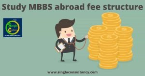 study mbbs abroad fee structure