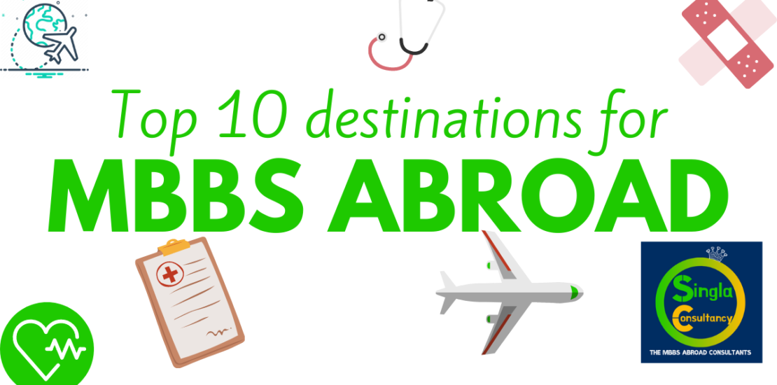 Top 10 destinations for mbbs abroad